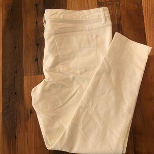 Mossimo Denim, White Jegging, Midrise-Size 16/33